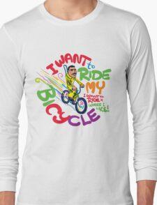 Freddie's Bicycle Long Sleeve T-Shirt