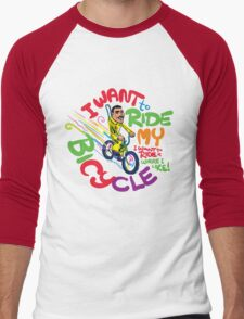 Freddie's Bicycle Men's Baseball ¾ T-Shirt
