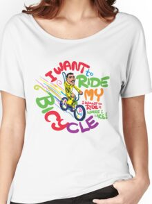 Freddie's Bicycle Women's Relaxed Fit T-Shirt