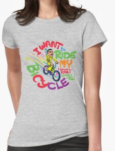 Freddie's Bicycle Womens Fitted T-Shirt