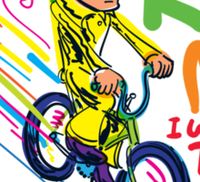 Freddie's Bicycle Sticker