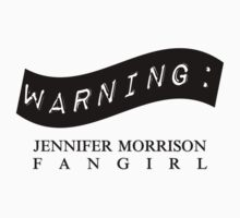 Warning: Jennifer Morrison Fangirl One Piece - Short Sleeve