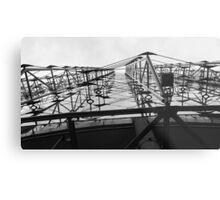 Glass and Steel  Metal Print