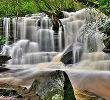 Somersby Falls - Lower by TedmBinegas