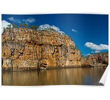 Jedda Rock - Katherine Gorge Poster