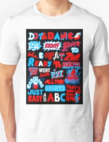 Justice DANCE Lyrics by So Me T-Shirt