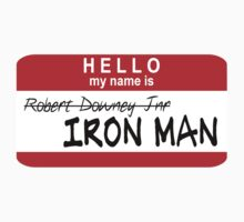 Hello, My Name Is Iron Man by rexannakay