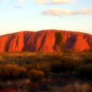 Ayers Rock Atmosphere by John Dalkin