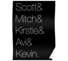 Pentatonix Names Poster
