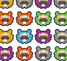 Beaver crush Saga: Blitz Sticker