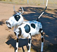 Cow on High  by Penny Smith
