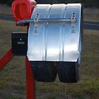 Truckie Mailbox by Penny Smith