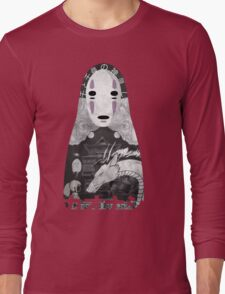 No Face Bathhouse  Long Sleeve T-Shirt