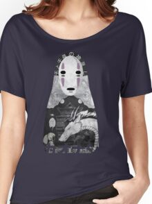 No Face Bathhouse  Women's Relaxed Fit T-Shirt