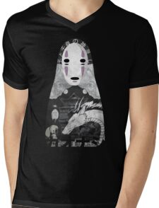 No Face Bathhouse  Mens V-Neck T-Shirt
