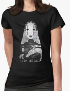 No Face Bathhouse  Womens Fitted T-Shirt