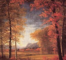 Bierstadt Albert Autumn in America Oneida County New York.   by naturematters