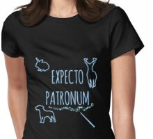 Expecto Patronum! Womens Fitted T-Shirt