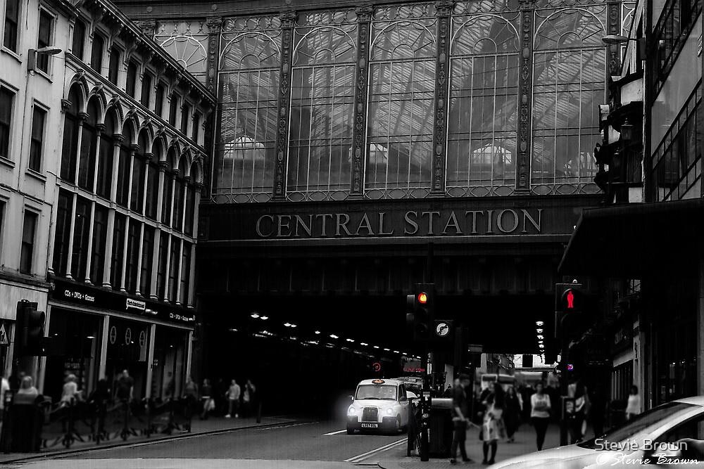 Colour in an urban world by Stevie B