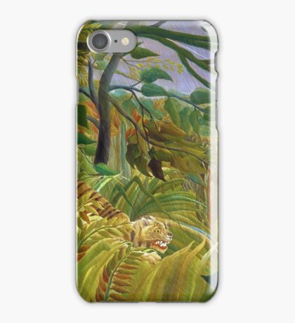 Henri Rousseau - Surprised iPhone Case/Skin