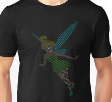 Typography Tinker Bell Unisex T-Shirt