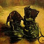 A Pair of Shoes, Vincent van Gogh.     by naturematters