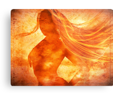 Elemental Mysteries 1 - Born of Fire Metal Print