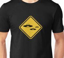 Beware of UFO Road Sign T-Shirt