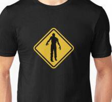 Beware of Zombies Road Sign T-Shirt