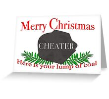Merry Christmas CHEATER Greeting Card