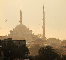 Sunset - Istanbul - Turkey by Erin McMahon