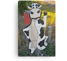 Mooing Mailbox Canvas Print