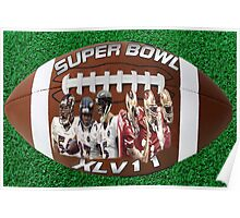 ☝ ☞ SUPERBOWL XLV11 (VERSION ONE ) QUES IS WHO WILL WIN??☝ ☞ Poster