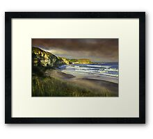 """The small port of Braddon"" Framed Print"