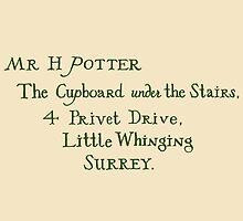 Harry Potter Hogwarts Letter by RobynEJeffrey