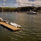 River Dart in Dartmouth by Jay Lethbridge