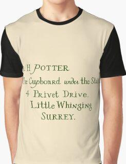 Harry Potter Hogwarts Letter Graphic T-Shirt