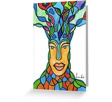 Blissful Tree Greeting Card