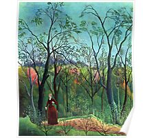 Henri Rousseau - The Walk in the Forest Poster
