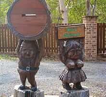 Gnomes for Mail by Penny Smith