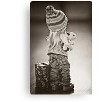 Eve and tobby Canvas Print