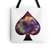 Cosmic Spade Tote Bag