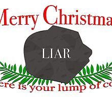 Merry Christmas LIAR by M Fernandez