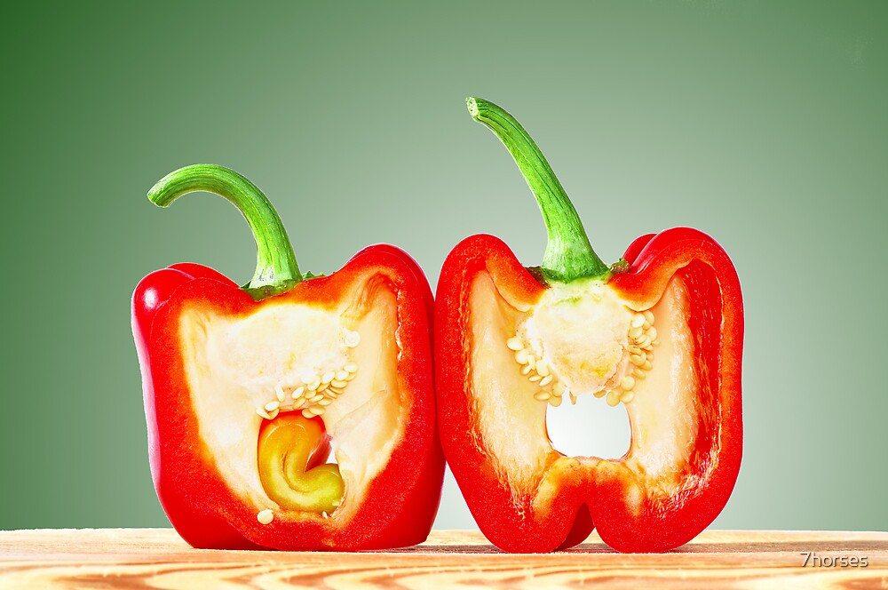 Red Bell Pepper  by 7horses
