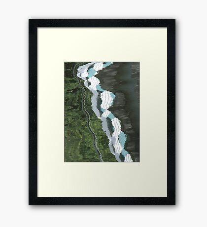Exe Reflections - I Framed Print