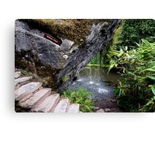 The Wishing Steps Canvas Print