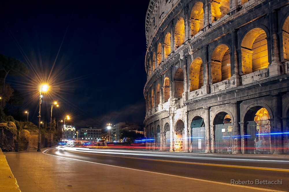 Your way in the night by Roberto Bettacchi