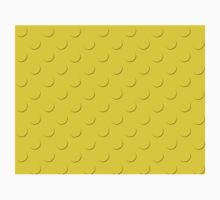 Yellow Lego Surface Baby Tee