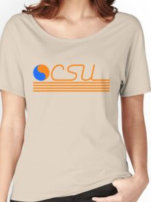 CSU Retro Women's Relaxed Fit T-Shirt