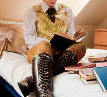 An Avid Reader 2 by Kerry  Becker
